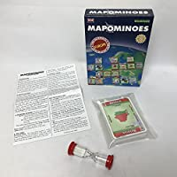 MAPOMINOES EUROPE - The Ultimate Geography Game - Fun and educational travel card game for kids teenagers and adults. Like dominoes with maps.