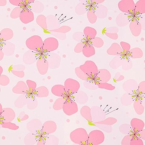 Sakura Schaum rollmat grossen 60 x 60 Schlafzimmer puzzle Fußmatte nähen Kinder Teppich, 60 * 60 * 1 CM, rosa Kirschblüten