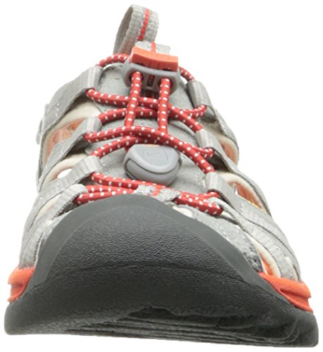 Keen WHISPER W-GREENBRIAR/NEUTRAL GRAY, Sandali donna (Neutral Gray-Spicy Orange)