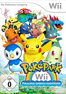 pok park wii pikachus gro es abenteuer games. Black Bedroom Furniture Sets. Home Design Ideas