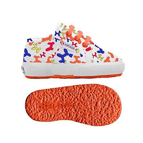 Chaussures Le Superga - 2750-fantasy Cotb - Enfants DOGGIES WHITE