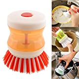 Cleaning brush ,Dish washer with Liquid soup dispenser (Colours as per Availability)