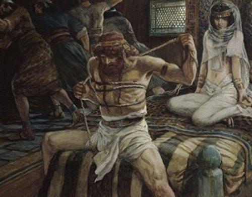 James Tissot - Samson Breaks his Cords James Tissot (1836-1902/French) Jewish Museum New York Poster Drucken (45,72 x 60,96 cm) - New York Cord
