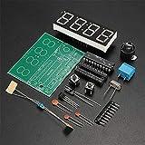 Gaoxing Tech. C51 4 Bits Digital LED électronique de production d'horloge Suite DIY Kits Set