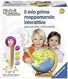 Ravensburger Italy-Il Mio Primo Mappamondo Interattivo, 00795 0