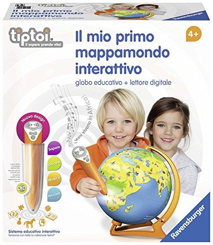 Ravensburger Italy Il Mio Primo Mappamondo Interattivo,...