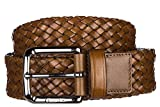 Church's ceinture homme en cuir weave marron