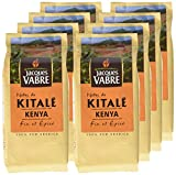 JACQUES VABRE Café Origine Kitale Moulu 250g - Lot de 4