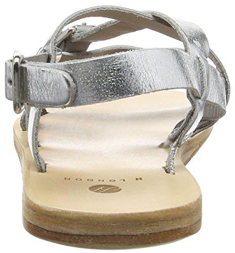 Hudson London ANITA Damen  Sandalen Silber (Silver)