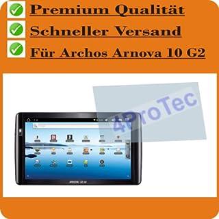 4x Archos Arnova 10 G2 ENTSPIEGELNDE Displayschutzfolie Bildschirmschutzfolie Schutzhülle Displayschutz Displayfolie Folie