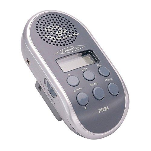 Point Fahrradradio mit autom.Sendersuchlauf und MP3 Anschluss,Ohne Batterien (Farbe zufällig, 1 Stück)