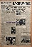 oeuvre l no 7627 du 18 08 1936 petite histoire symbolique par henri guernut brimade contre les republicains de saint denis ont ils mange par g j le president aux champs apres un mois de guerre civile les navires rebelle bombardent saint