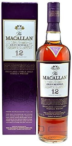 Rarity: The Macallan Whisky Gran Reserva, 12 years, original bottling incl. gift box 0.7l with 45.6% alc./vol. - Highland Single Malt Scotch
