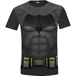 Batman v Superman - Hombres Camiseta - Tamaño XX-Large