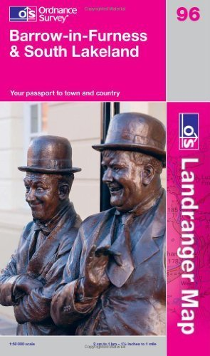 Barrow-in-Furness & South Lakeland (OS Landranger Map) by Ordnance Survey (2011) Paperback