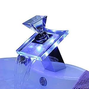 Lightinthebox cambia colore portato cascata bagno - Rubinetti bagno a cascata ...