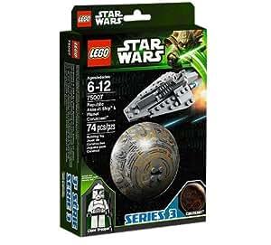 Lego Star Wars - 75007 - Jeu de Construction - Republic Assault Ship & Coruscant
