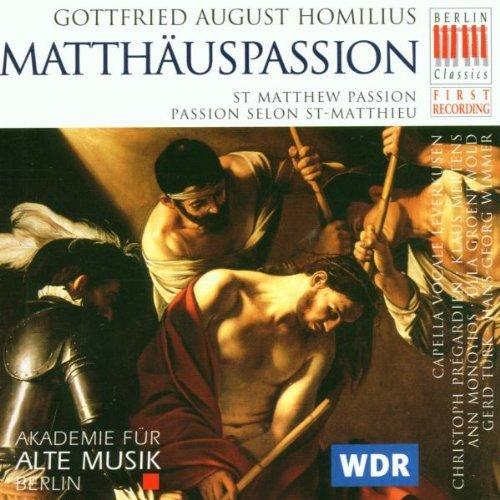 Homilius: Matth?uspassion (St. Matthew Passion) (2005-10-01)
