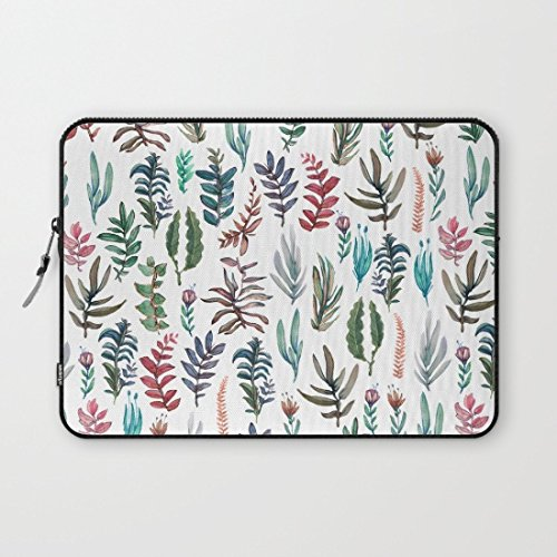 whiangfsoo-watercolor-garden-waterproof-soft-neoprene-sleeve-case-bag-pouch-carrying-holder-protecto