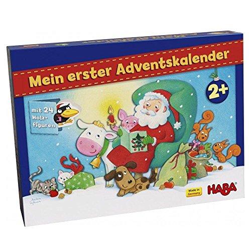 HABA 303156 Mein erster Adventskalender-Weihnachten auf dem Bauernhof (Kinder Adventskalender Für)