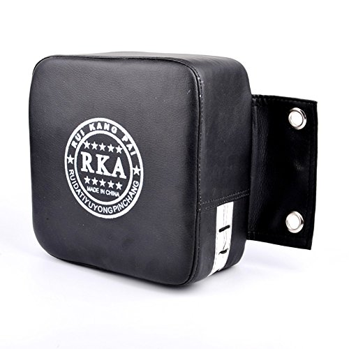 SUPEWOLD Square Foam Boxing bag, PU Focus target Strike Pad, sacco da parete, pad per Taekwondo karate Battle Arts training, Nero