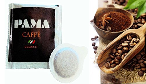 200 Cialde Caffè Pama Filtro carta Ese 44mm miscela gusto Classico Napoletano