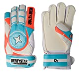 Derbystar Fingersave Torwarthandschuhe Attack XP Protect, weiß blau orange 2604