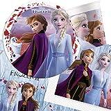 Disney Frozen 15335 Disney Frozen - Set da tavola Disney Frozen, colore: Blu