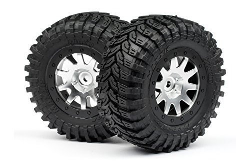 hpi-racing-103336-maxxis-d-neumaticos-montado-en-mk-10-cromado-ruedas-blitz-2