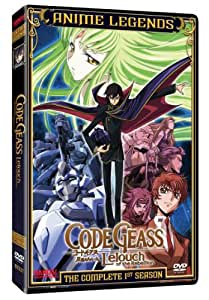 Code Geass Leouch of the Rebellion: Complete First DVD Region 1 US