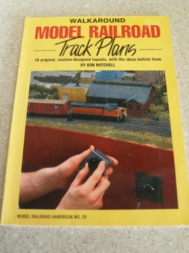 Walkaround Model Railroad Track Plans (Model Railroad Handbook)