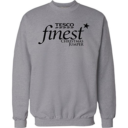 mens-funny-christmas-jumper-tesco-finest-xmas-sweater-gift-present-unisex-top-new-all-sizes-s-2xl