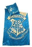 HARRYPOTTER Juego de ropa de cama–funda de edredón Reversible 140x 200cm + funda de almohada de 63x 63cm, microfibra–Oeko-Tex–Harry Potter
