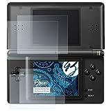 Bruni Schutzfolie für Nintendo DS-Lite Folie - 2er Set glasklare Displayschutzfolie