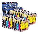 20x Druckerpatronen kompatibel für Brother LC-980 xl LC980 xl Brother DCP-145C DCP-163C DCP-165C DCP-167C DCP-185C DCP-195C DCP-365CN DCP-373CW DCP-375CW DCP-377CW DCP-383C DCP-385C DCP-387C DCP-395CN DCP-585CW DCP-6690CW MFC-250C MFC-255CW MFC-290C MFC-295CN MFC-297C MFC-490CW MFC-5490CN MFC-5890CN MFC-6490CW MFC-6690CW MFC-6890CDW MFC-790CW MFC-795CW MFC-990CW Tinte Drucker Patrone mit Chip Füllstandsazeige