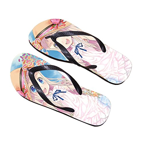 Bromeo AnoHana Anime Unisexe Flip Flops Tongs 684