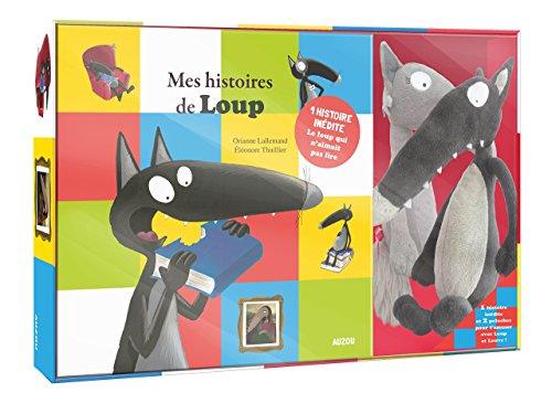 Le Loup - Coffret Recueil 2 titres (dont une histoire inédite) + 2 peluches par Orianne Lallemand