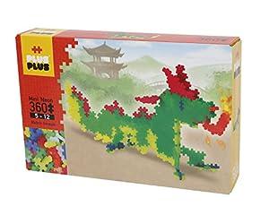 A Plus+-300.3734 - Juego de construcción de dragón de neón