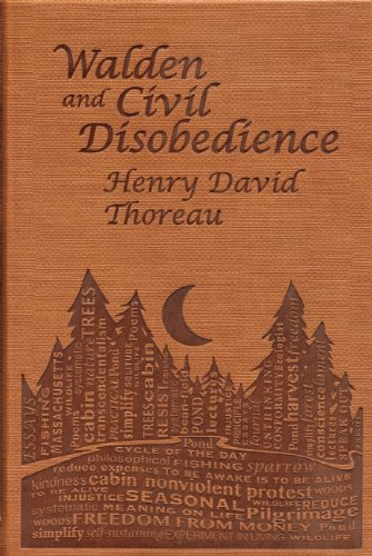 Walden and Civil Obedience: Henry David Thoreau (Word Cloud Classics)