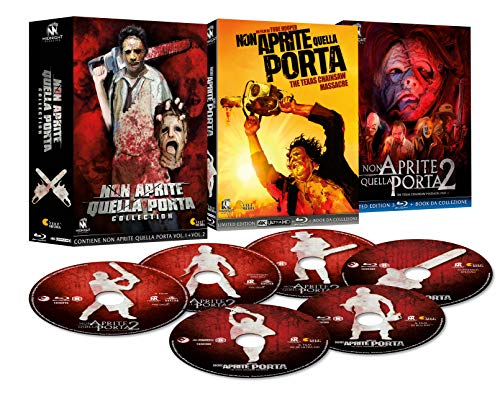 Non aprite quella porta collection (1+2)-esclusiva amazon (5 dischi +1 4k) (collectors edition) (6 blu ray)