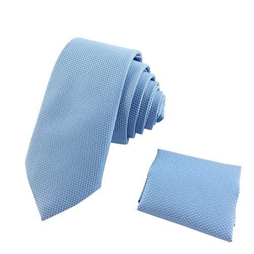 OZYOL - Corbata - para hombre azul claro Medium
