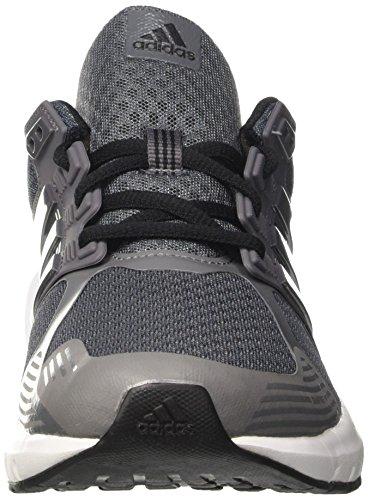 Adidas Duramo 8 M, chaussures de course Homme Argent (Onix/Grey Four/Core Black)