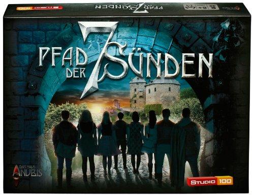 Preisvergleich Produktbild Studio 100 - MEHADE000210 Das Haus Anubis : Brettspiel Pfad der sieben Sünden