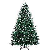 amzdeal Árbol de Navidad 180 cm, Árbol de Navidad