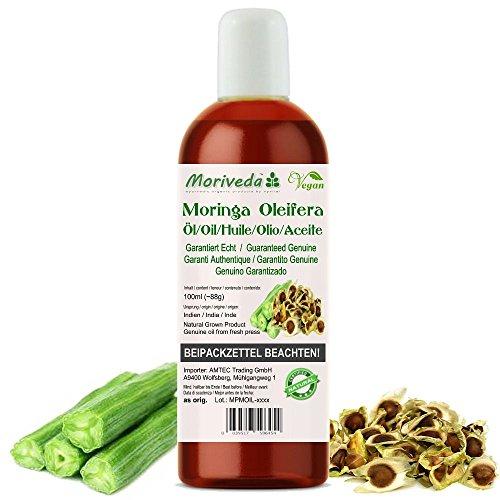Moringa olio 100ml - garantita Oleifera qualità Himalaya incontrollata crescita