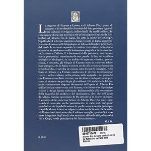 Alberto Pio da Carpi contro Erasmo da Rotterdam nell'età della Riforma