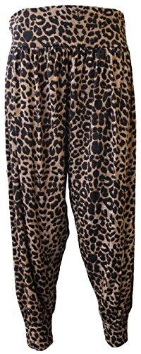 COMFYLOT LIMITED -  Pantaloni  - Donna Leopard Print