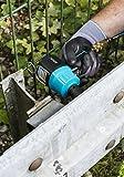 HAZET Druckluft-Schlagschrauber (extra kurz, max. Lösemoment 1400 Nm, Vierkant 12,5 mm (1/2 Zoll), empfohlenes Drehmoment 620 Nm, Hochleistungs-Doppelhammer-Schlagwerk) 9012MT - 6