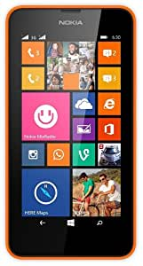 Nokia Lumia 630 (Orange, Dual SIM)