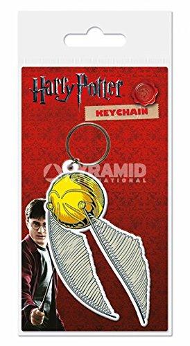 Preisvergleich Produktbild Pyramid International Harry Potter Snitch Gummi Schlüsselanhänger,  Mehrfarbig,  4, 5 x 6 cm